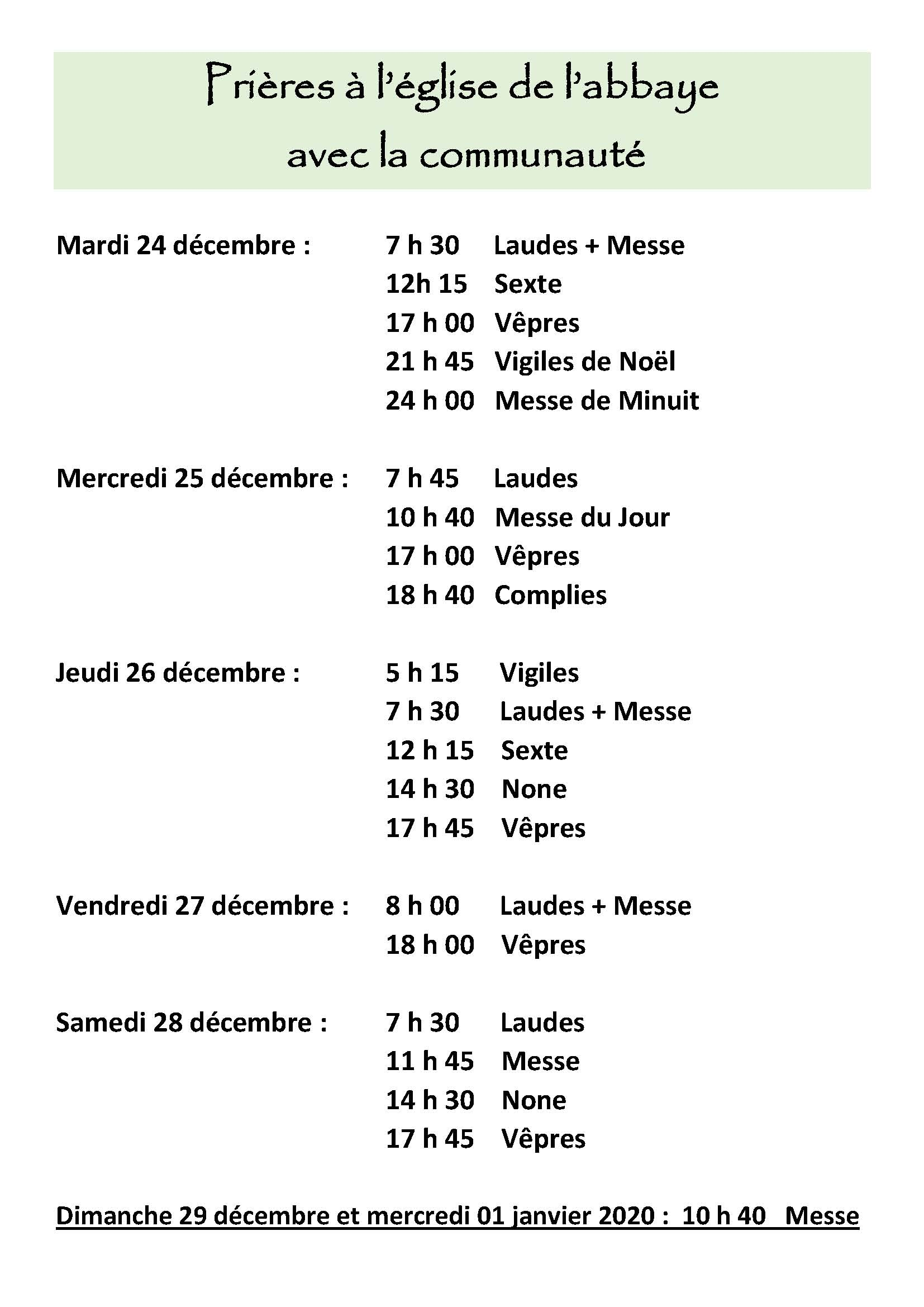 Horaires mag Noël Page 2