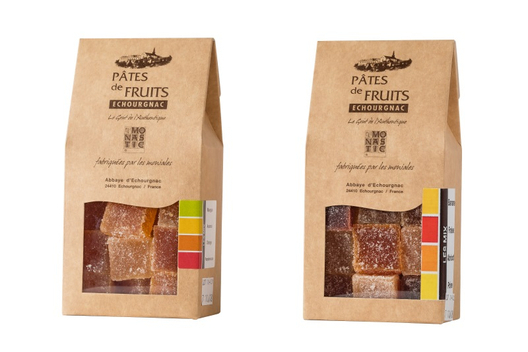 PATES DE FRUITS DUO sachets transparents
