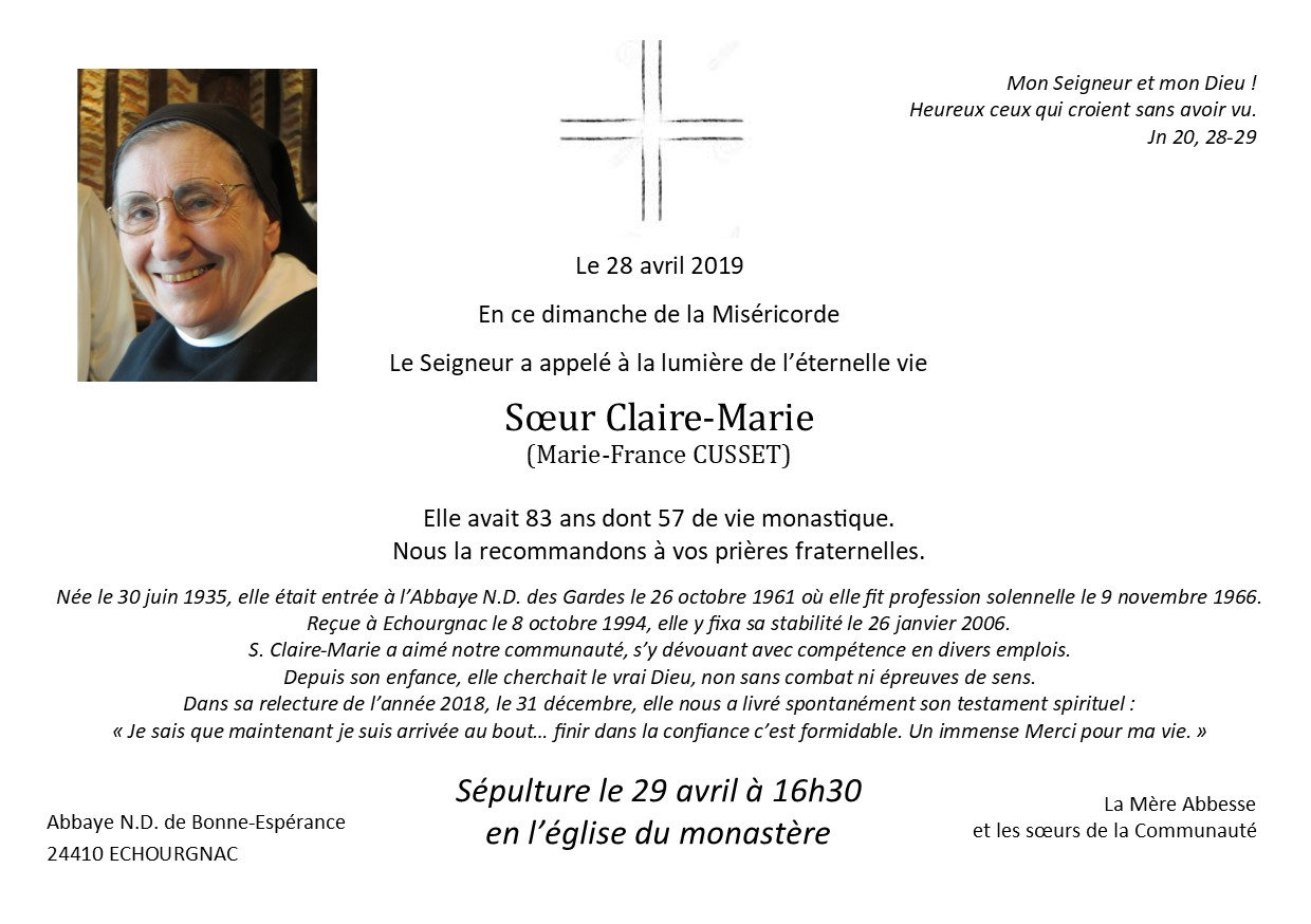DC s.claire marie